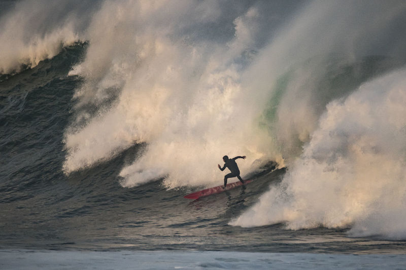Wave in Loredo Wave Adventure Beauty In Nature Day Extreme Sports Jet Boat Leisure Activity Motion Nature Nautical Vessel One Man Only One Person Outdoors Power In Nature Real People RISK Sea Skill  Sky Speed Sport Surfing Water Waterfront Wave Go Higher
