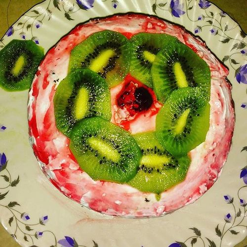 Freshfruit Homemadecake HappyBirthday Nisha Cooking Funfilled