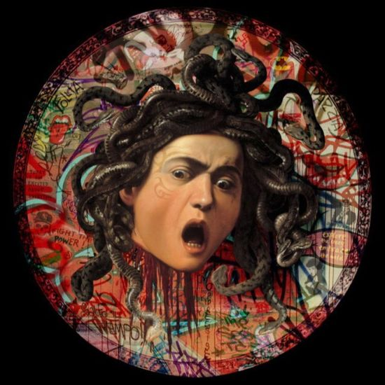 Badhairday Medusa Head Exploring The Subconscient Facial Experiments Photographic Approximation Free Yourself From Yourself
