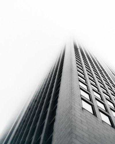 Foggy Morning Skyscraper Building Architecture Frankfurt The Architect - 2017 EyeEm Awards
