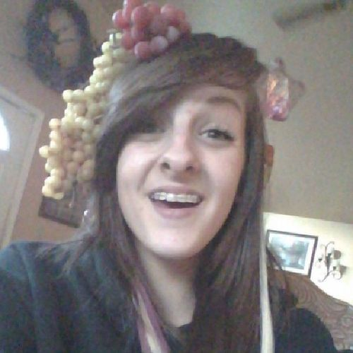 You could say I'm a little fruity ;) Pun Impunny Grapes Grapehat swag cute imdonenow