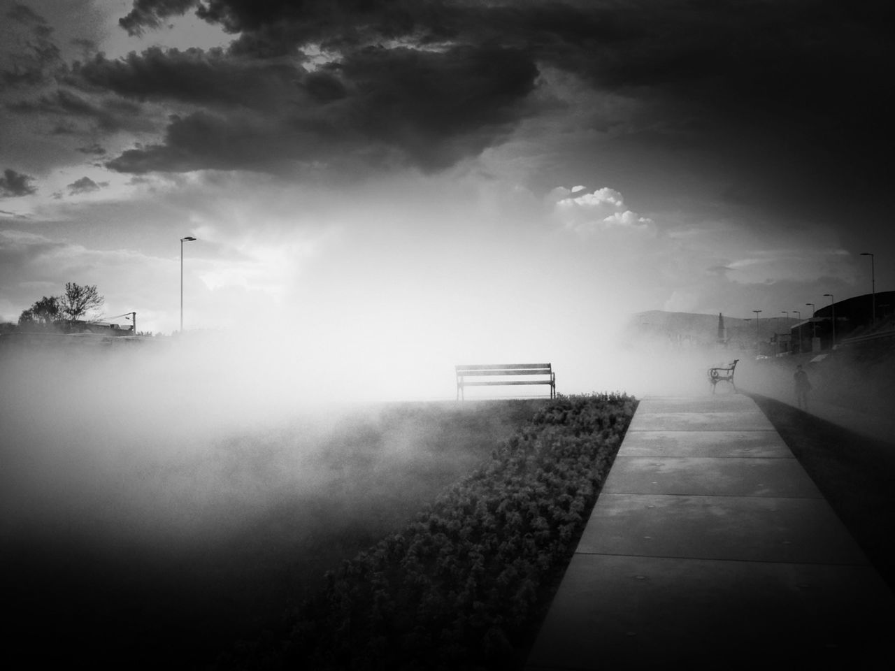 weather, sky, fog, no people, storm cloud, nature, outdoors, day