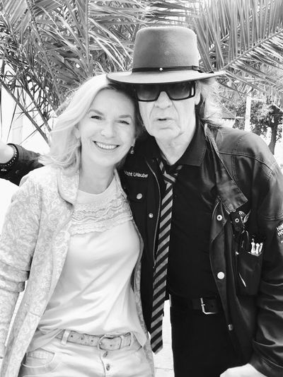 Just met Udo Lindenberg, greetings from Hamburg...