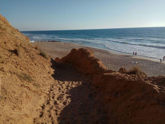Sand Dune Water Wave Clear Sky Sea Beach Sand Sky Horizon Over Water Landscape
