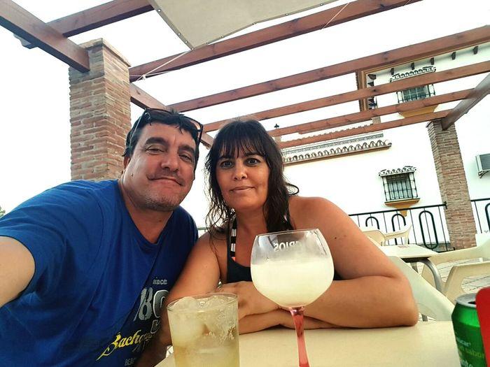 Love 💖Raul & Maribel 😘 27/ 07/ 2017 Málaga Spain ❤ Vacations