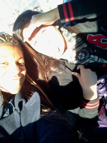 Kala & I Cruising, Damn It's Sunny