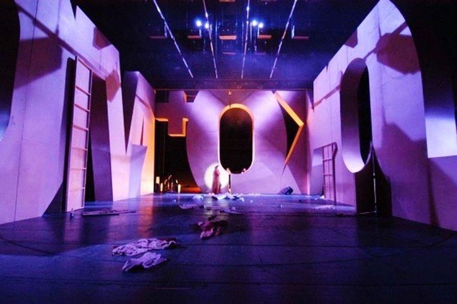Stage/Bühne Clockwork Orange.Theater Magdeburg.Regie: S.Hawemann Bühne: W.Gutjahr