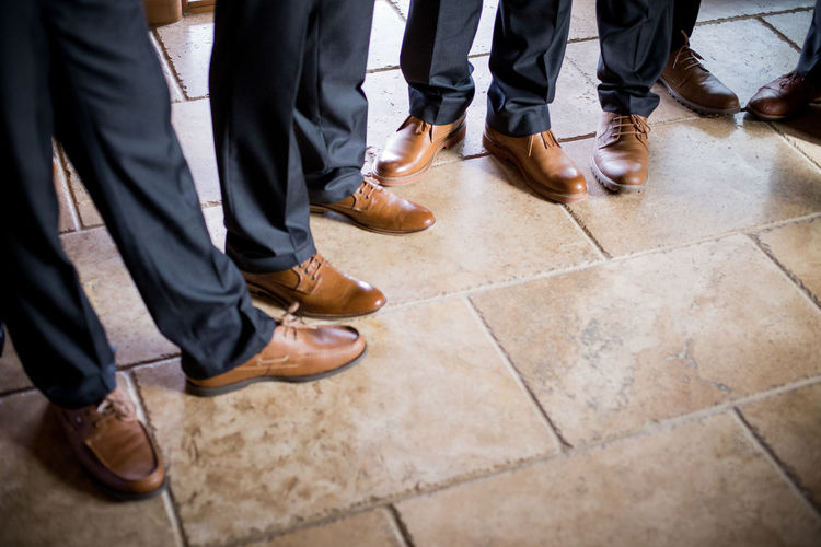 Low Section Group Of People Human Leg Men Human Body Part Shoe Body Part People Standing Adult Males  Human Foot Flooring Outdoors Waiting Togetherness Day Tiled Floor Coworker Dress Shoe Wedding Day Wedding Menswear Wedding Party