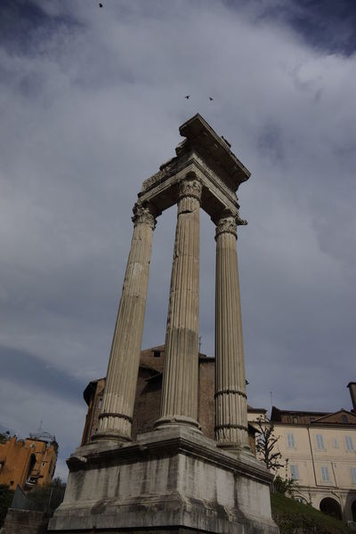 Ancient Ancient Civilization Architecture Built Structure David Waerebeek History Low Angle View Magnificent Old Old Buildings Pillars Roma Rome Sky