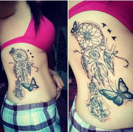 Young Women Females Tattooing Ink Human Hand Portrait Tattoo Human Skin Close-up