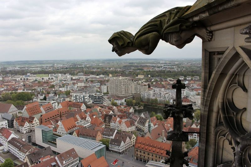 Travel Destinations Cityscape Architecture Building Exterior Outdoors Statue Built Structure No People Sky Ulm City High Angle View Ulmer Münster No Filter, No Edit, Just Photography Architecture Photography High Section Bird Angle View Abstract Canon 700D Architecture The Photojournalist - 2017 EyeEm Awards The Architect - 2017 EyeEm Awards