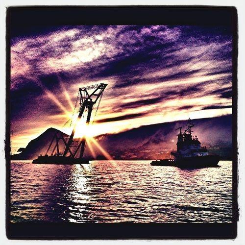 Sunset by Sukkertoppen :)