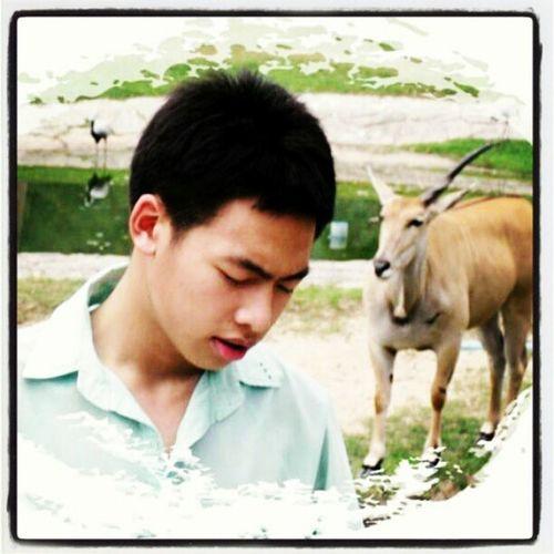 รักเขาข้างเดียว ม .4 สวนสัตว์เปิดเขาเขียว มีแต่รูปเก่าๆ 55555555