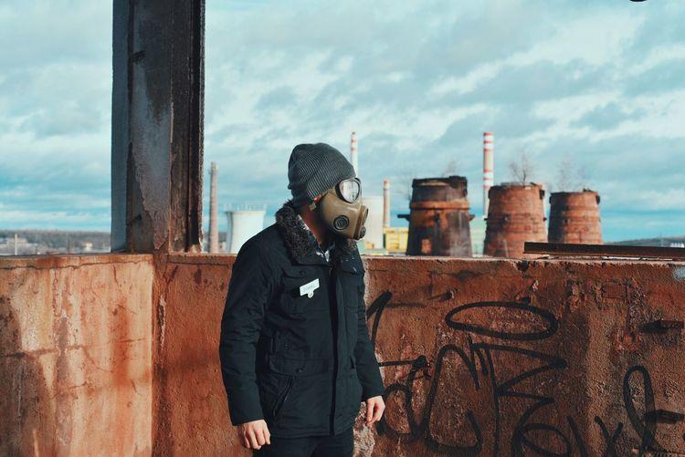 Vscocam Gasmask Mask Portrait Gasmaskonface