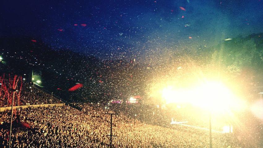 Rammstein Concert Epic Showdown  Waldbühne Berlin 2016 Amerika LIFAD Gänsehaut Pur Konfetti Encore Bestliveband