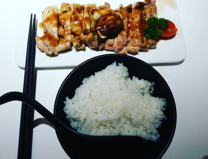 Chicken Teriyakichicken Teriyaki Japanese  Japanese Food Japanesefood Restaurant Rice Japaneserice Foodie Food Rice - Food Staple Indoors  Meat Meal Asian Food ASIA Malaysia Throwback Foodporn❤️ Foodporn