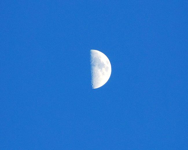 Moon Night Sky Evening First Eyeem Photo