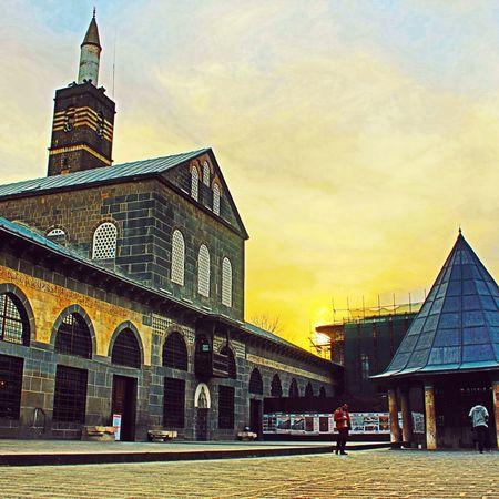 Amed Diyarbakır Ulucamii Günbatımı