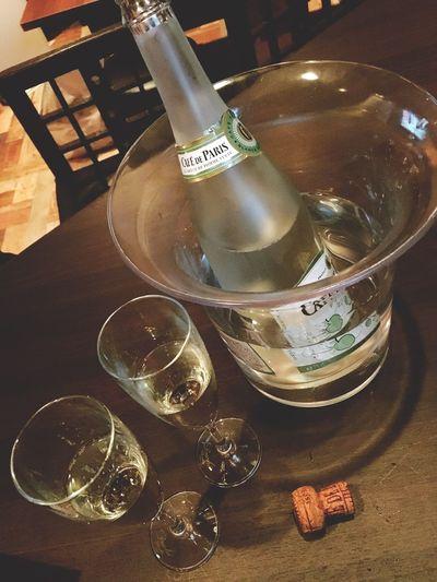 シャンパン バー ありがとうございます カフェパリ Champagne Bar Cafedeparis