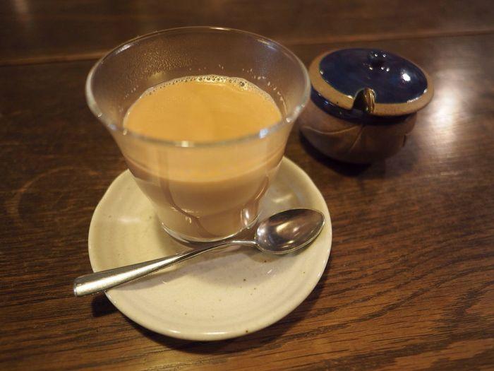 Kyoto Japan Shijyo Omiya Ratna Cafe Cafe Curry Chai Milktea Delicious Olympus PEN-F 京都 日本 四条大宮 ラトナカフェ ちゃい ミルクティー 美味