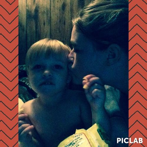 I edited this pic with PicLab @piclabapp Piclab goodnight kiss Mommyslove ThatFaceTho Ilovethisboy
