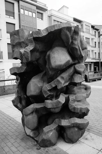 Sculpture Art Vitoria Gasteiz Vitoria / Gasteiz Creativity Street Art Streetphotography Vitoria-GasteizCity vitoriaBlackandwhite Vitoria-gasteiz No People