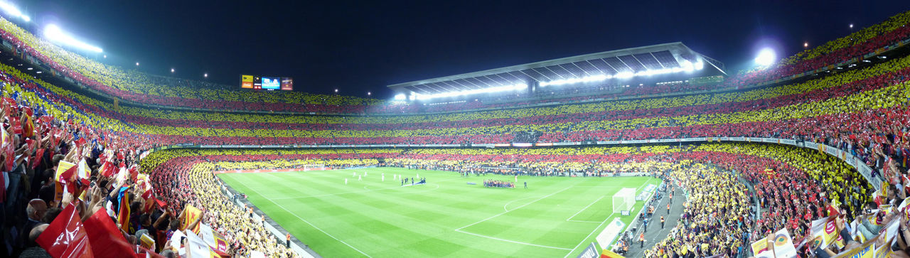 Camp Nou from