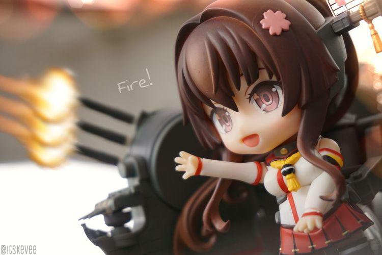 Yamato: Fire! Yamato Enjoying Life Taking Photos Relaxing Toys Art Kantaicollection 艦コレ Anime 艦隊これくしょん Toycrewbuddies Toysaremydrug Nendoroid Toyphotography ねんどろいど Outdoors Outdoor Photography Kancolle