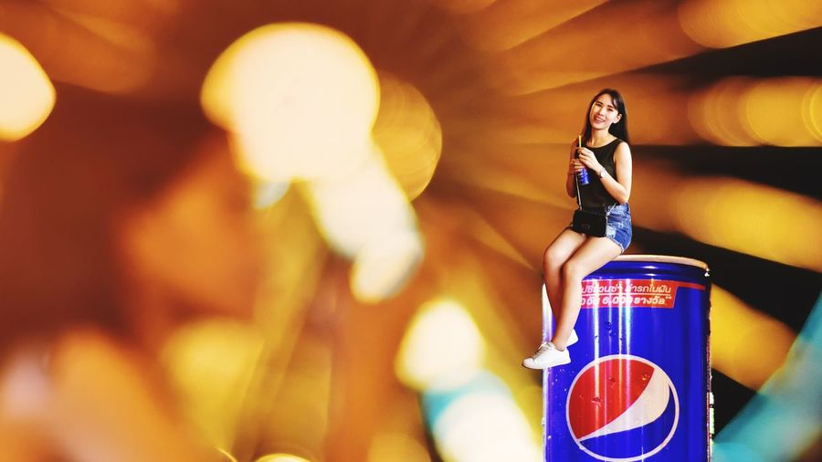 Beautiful girl on Pepsi can and light background Marketing Bussiness Drinking Pepsi Beautiful Women Beautiful Girl Beautiful Women Girl Drink Backgrpund Pepsi EyeEm Selects Communication Indoors  Young Adult One Person Young Women Day Close-up People