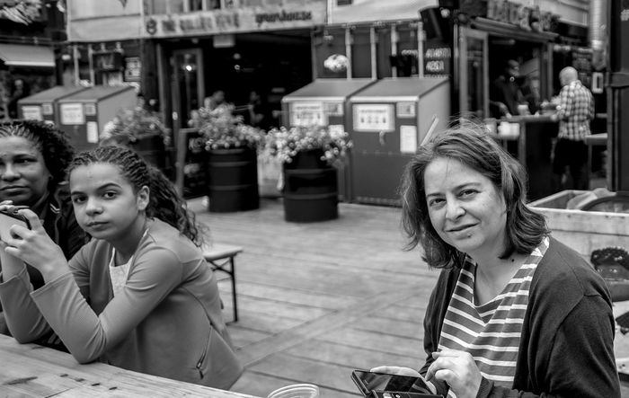 Kate, Pop Brixton, Brixton, London Market Brixton London FUJIFILM X-T10 Black And White Monochrome Pop Brixton Street