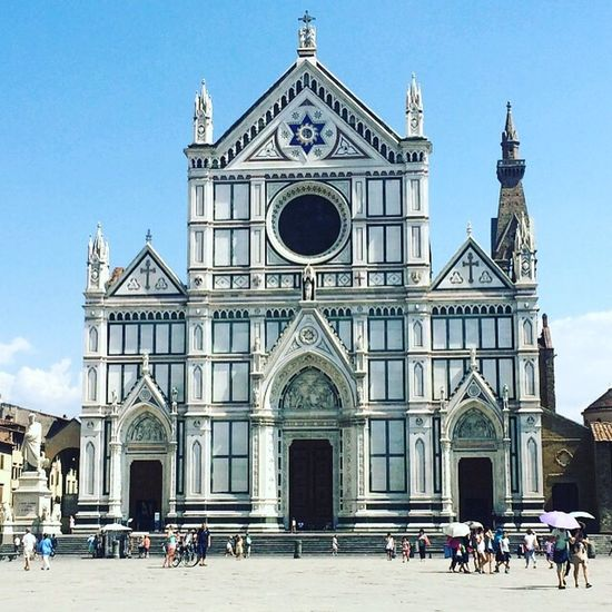 First Eyeem Photo Architecture History Culture Religion Religious  Italia Santa Croce Santa Croce Cathedral Florence