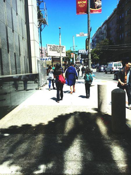 Everyday life Shadow Walking Lifestyles