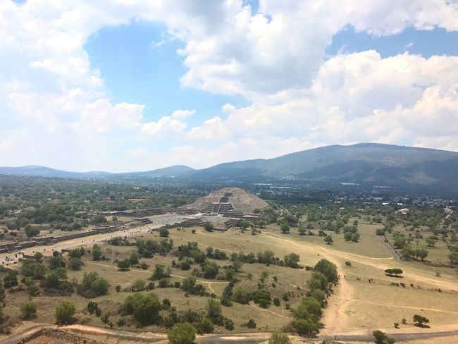 Landscape Pyramid Pyramids Mexico Teotihuacán Pyramids Teotihuacan Sacred Sacred Valley Hello World Peaceful Gratitude Peace And Quiet Life Is Perfect Outdoors Lifestyles