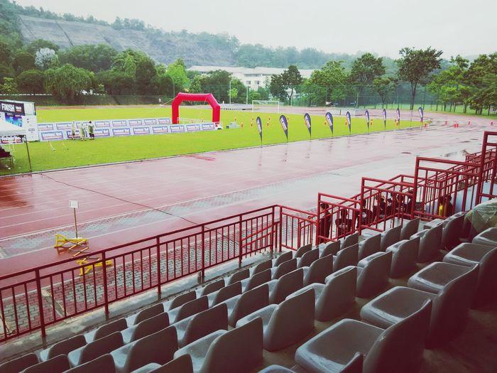 5K run under the rain!