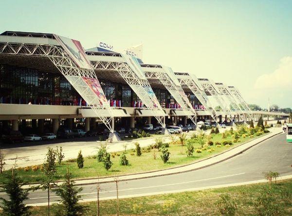 Sochi airport Architecture
