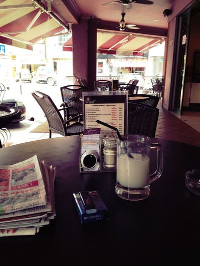 Coffee at D'Rich Coffee