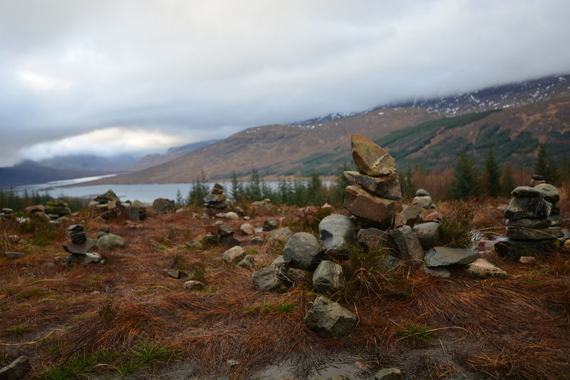 Scotland Christmas Portree Skye Uig Winter Beauty In Nature Cloud - Sky Day Field Grass Landscape Mountain Mountain Range Nature No People Outdoors Scenery Scenics Sky Stones Tranquil Scene Tranquility Water