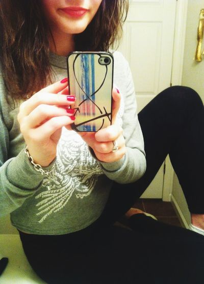 IPhone 4 Iphone Case love my new case! Taking Photos Check This Out ⚓?