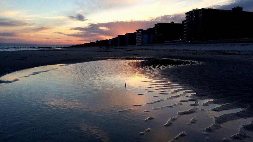 Sunset At Long Beach, NY Sunset_collection Visualmagic EyeEm Best Shots Sandripples Nikontop Popular Photos Sky Collection EyeEm Sunset Beautiful Sky