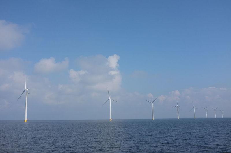 Scenic view of a sea