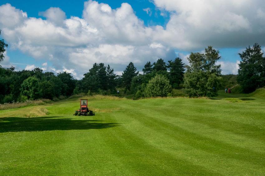 Golfcourse Golf Course Lawnmowerman Lawnmower