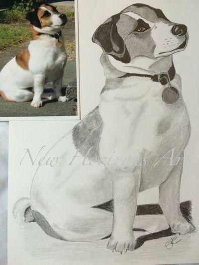 Dog portrait Myartwork Art #illustration #drawing #draw #tagsforlikes #picture #photography #artist #sketch #sketchbook #paper #pen #pencil #artsy #in Portrait Dog