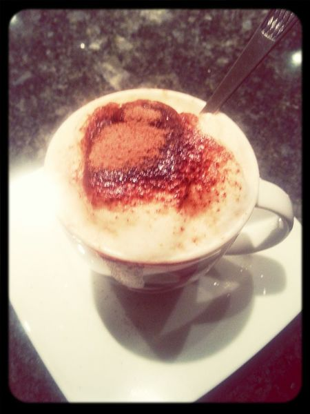 Mums Home coffee time Chocolate Mousse For Me / My Mum ♥