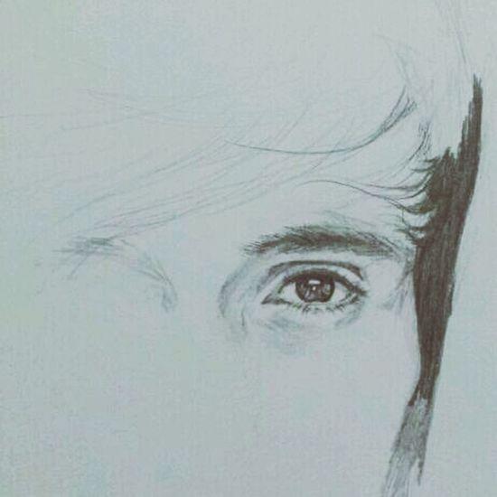 more details.. MistAke_Arts Art Eyes Portraits