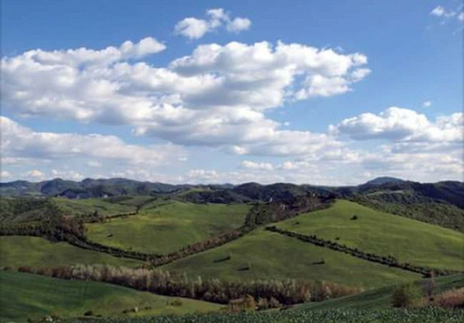 Landscape_photography Landscape_Collection Landscape Colline Hills Verde Green Color Blue Sky Sky And Clouds Sky Cielo Cielo E Nuvole Blu