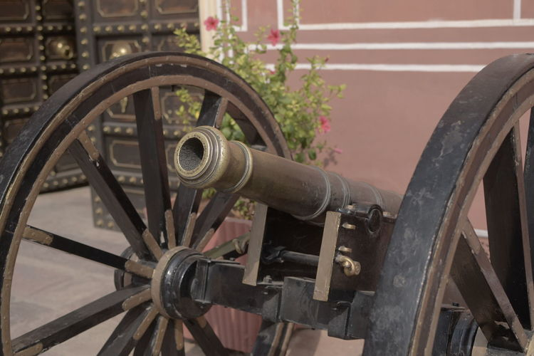 Ancient Weapon Armour Cannon Fire Cannon Machinery Metallic Old Indian Cann Royal Cannon Royal Weapon Weapon Jaipur Royal Fami