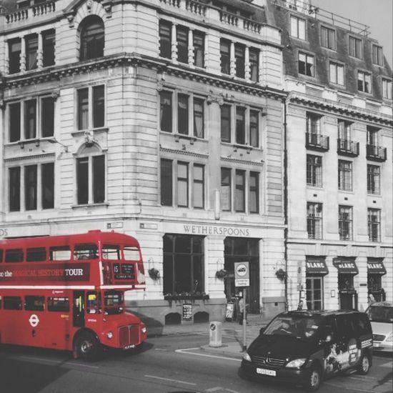London Bus London Bus Red Coloursplash