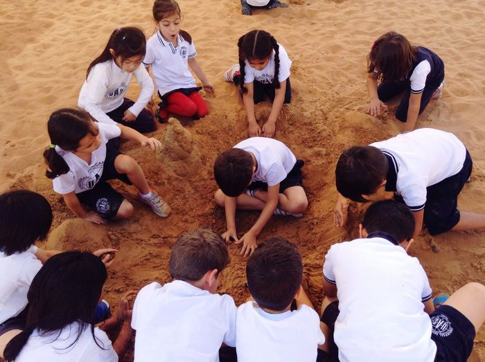 My Student Life Playtime Sandcastles Afternoon Recess