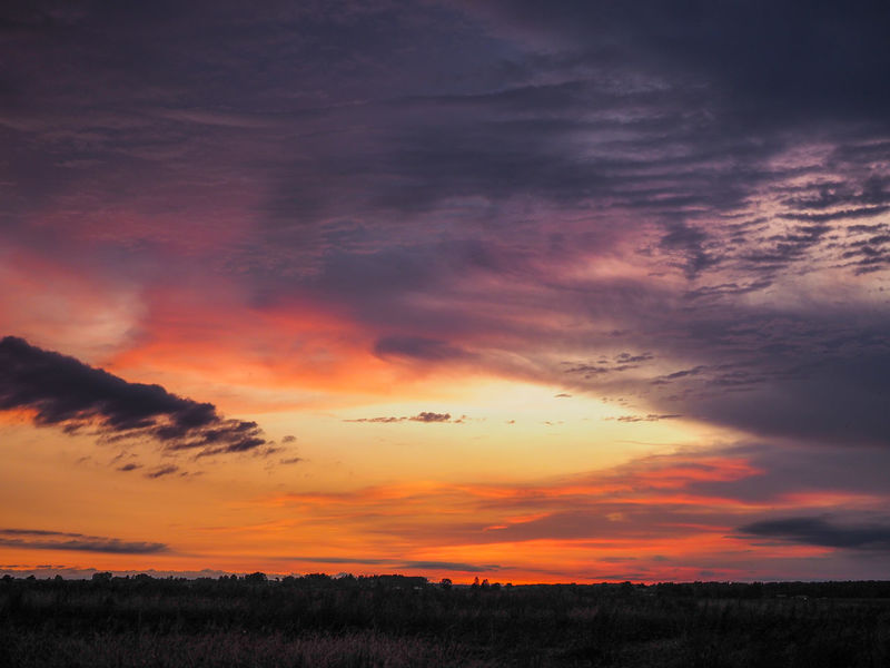 Sunset Cloudy Sky Great View Lithuania Lithuania Nature Sunset_collection Beauty In Nature Cloud - Sky Clouds Dramatic Sky Dusk Evening Evening Sky Great Landscape Horizon Over Land Idyllic Landscape Nature No People Orange Color Outdoors Scenics Sky Sunset Tranquil Scene Tranquility