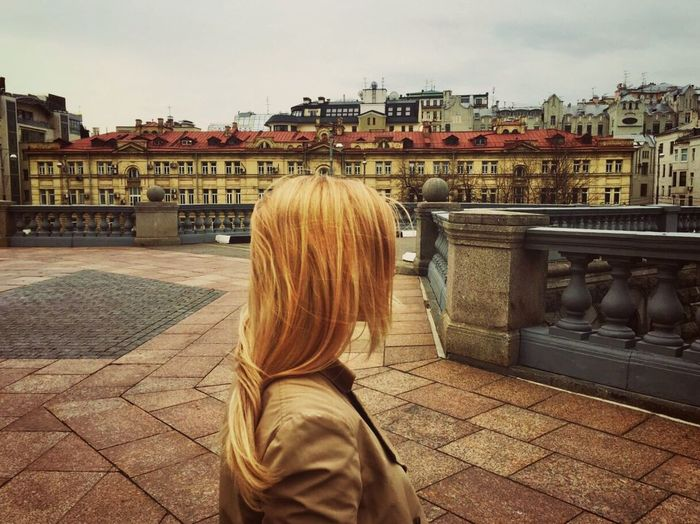 Architecture Rear View Building Exterior City Icanseeformiles Love Moscow Spring